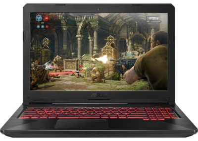 "ASUS TUF FX504GM-WH51 15.6"" IPS FHD, Quad Core Intel i5-8300H NVIDIA GeForce GTX 1060 256GB SSD 8GB Memory Windows 10 Home VR Ready Gaming Laptop"