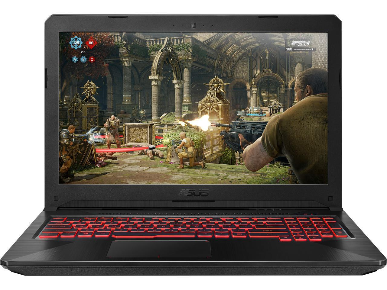 "15 6"" Asus VR Ready Gaming Laptop with 8th Gen Intel Core i5, NVIDIA"