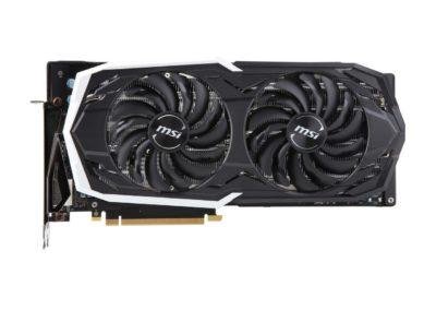MSI GeForce RTX 2070 DirectX 12 RTX 2070 ARMOR 8G OCV1 8GB 256-Bit GDDR6 PCI Express 3.0 x16 HDCP Ready Video Card