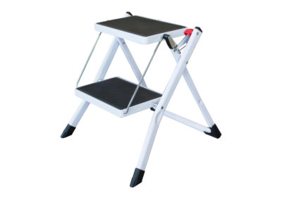 2-Step Steel Folding Mini Step Ladder