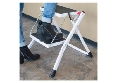 2-Step Steel Folding Mini Step Ladder 04
