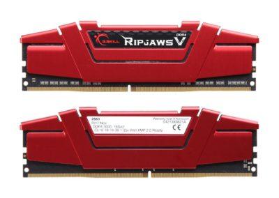 G.SKILL Ripjaws V Series 32GB (2 x 16GB) 288-Pin DDR4 SDRAM DDR4 3000 (PC4 24000) Desktop Memory Model F4-3000C16D-32GVRB