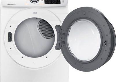 DV5300 7.5 cu. ft. Dryer with Steam in White (2018) (Electric: DVE45N5300W/A3, or Gas: DVG45N5300W/A3)