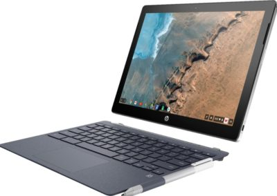 "HP X2 12-F014DX 2-in-1 12.3"" Touch-Screen Chromebook - Intel Core M - 4GB Memory - 32GB eMMC Flash Memory - White"