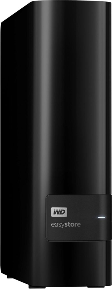 WD WDBCKA0100HBK-NESN Easystore 10TB External USB 3.0 Hard Drive - Black