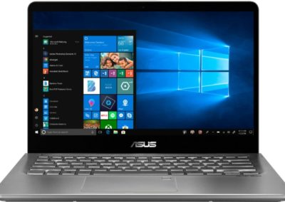 "ASUS Q405UA-BI5T7 2-in-1 14"" Touch-Screen Laptop - Intel Core i5 - 8GB Memory - 128GB Solid State Drive - Light Gray"