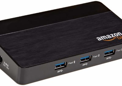 AmazonBasics 10 Port USB 3.0 Hub