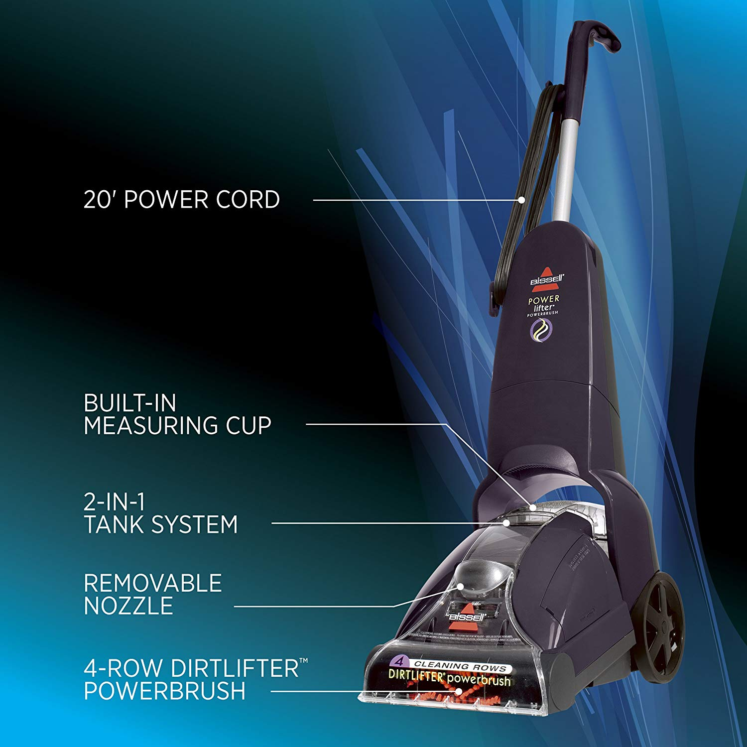 Bissell Powerlifter Powerbrush Upright Carpet Cleaner And