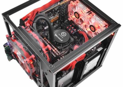 Thermaltake Core V1 CA-1B8-00S1WN-00 ITX Mini Cube Case