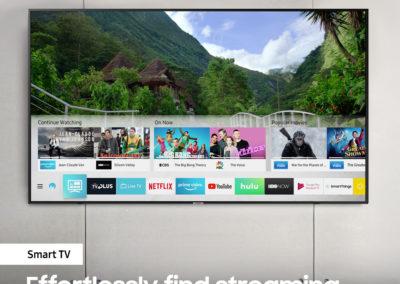 """Samsung UN65NU7300FXZA 65"""" Class NU7300 Curved Smart 4K UHD TV"""