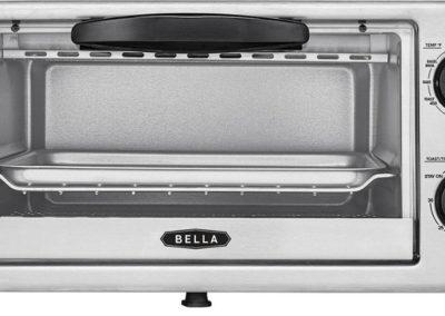 Bella - 4-Slice Toaster Oven