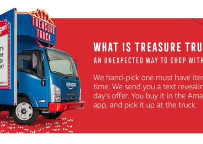 $10 off the Amazon Treasure Truck for Registering