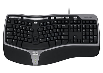 Microsoft Natural Ergonomic Keyboard 4000 01