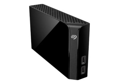 Seagate Backup Plus Hub 8TB 2 x USB 3.0 Hard Drives - Desktop External STEL8000100 Black