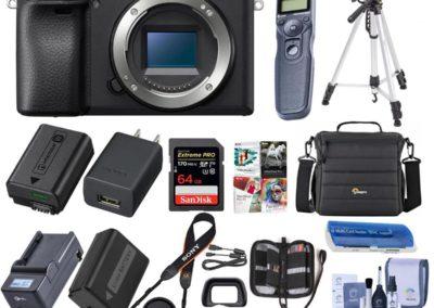 Sony A6400 Adorama Kit
