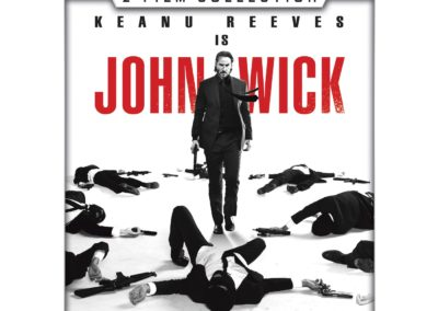 John Wick Double Feature (Bundle) in 4K Ultra HD including John Wick and John Wick: Chapter 2 from VUDU