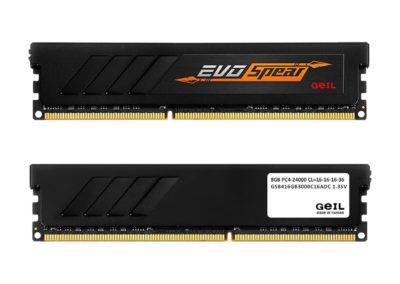 16GB (2 x 8GB) GeIL EVO SPEAR GSB416GB3000C16ADC 288-Pin DDR4 SDRAM DDR4 3000 (PC4 24000) CAS 16 Desktop Memory