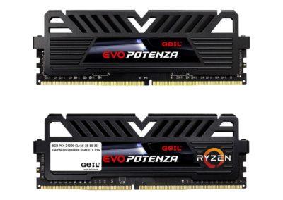 GeIL EVO POTENZA AMD 16GB (2 x 8GB) 288-Pin DDR4 SDRAM DDR4 3000 (PC4 24000) Desktop Memory Model GAPB416GB3000C16ADC