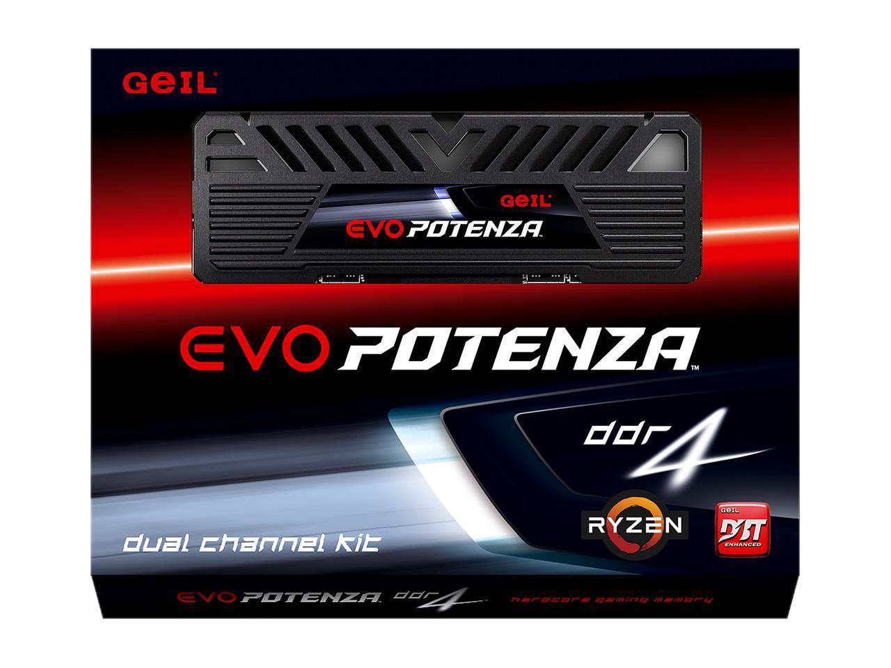 16GB (2 X 8GB) GeIL EVO POTENZA AMD DDR4 3000 (PC4 24000