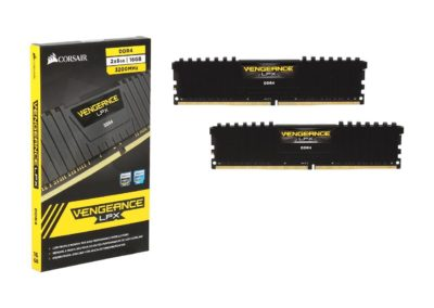 CORSAIR Vengeance LPX 16GB (2 x 8GB) 288-Pin DDR4 SDRAM DDR4 3200 (PC4 25600) Desktop Memory Model CMK16GX4M2B3200C16