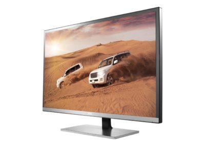 "AOC Q3277FQE 31.5"" QHD 2560x1440 monitor, 10-bit MVA panel/over 1 billion colors, 5ms, DisplayPort/HDMI/DVI-D/VGA, AOC FlickerFree, VESA compatible"