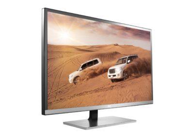 """AOC Q3277FQE 31.5"""" QHD 2560x1440 monitor, 10-bit MVA panel/over 1 billion colors, 5ms, DisplayPort/HDMI/DVI-D/VGA, AOC FlickerFree, VESA compatible"""