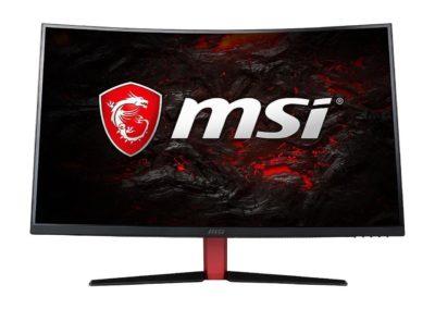 "MSI Optix AG32C 31.5"" Curved 1ms (MPRT) 165Hz 250 cd/m2 LCD/LED AMD Freesync Gaming Monitor HDMI DisplayPort"