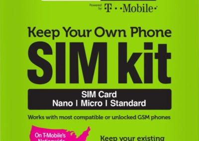 Simple Mobile SMATKTMT5NA-TRI1 Keep Your Own Phone SIM Card Kit