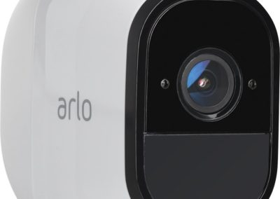 Arlo Pro VMS4430-100NAS 4-Camera Indoor/Outdoor Wireless 720p Security Camera System - White