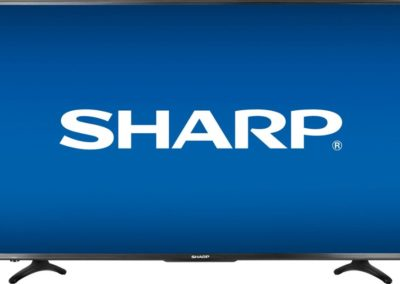 "55"" Sharp LC-55LBU591U 4K Ultra HD Smart LED TV with HDR and Roku TV built-in"