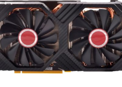 XFX RX-580P8DBDR AMD Radeon RX 580 GTS Black Edition 8GB GDDR5 PCI Express 3.0 Graphics Card - Black