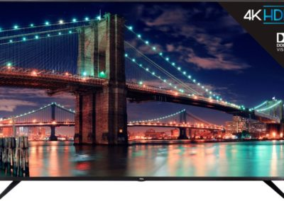 "TCL 65R615 65"" Class - LED - 6 Series - 2160p - Smart - 4K UHD TV with HDR Roku TV"