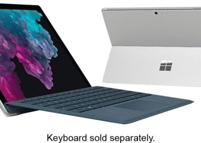 "Microsoft - Surface Pro 6 LGP-00001 12.3"" Touch-Screen - Intel Core i5 - 8GB Memory - 128GB Solid State Drive (Latest Model) - Platinum"