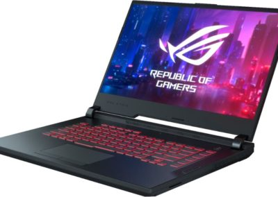 "ASUS ROG G531GT G531GT-BI7N6 15.6"" Gaming Laptop - Intel Core i7 - 8GB Memory - NVIDIA GeForce GTX 1650 - 512GB Solid State Drive - Black"