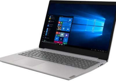 "Lenovo 81MV008AUS IdeaPad S145-15IWL 15.6"" Laptop - Intel Core i7 - 12GB Memory - 256GB Solid State Drive - Gray IMR"