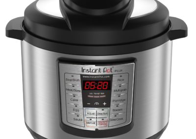 Instant Pot LUX80 8 Qt 6-in-1 Multi- Use Programmable Pressure Cooker, Slow Cooker, Rice Cooker, Sauté, Steamer, and Warmer
