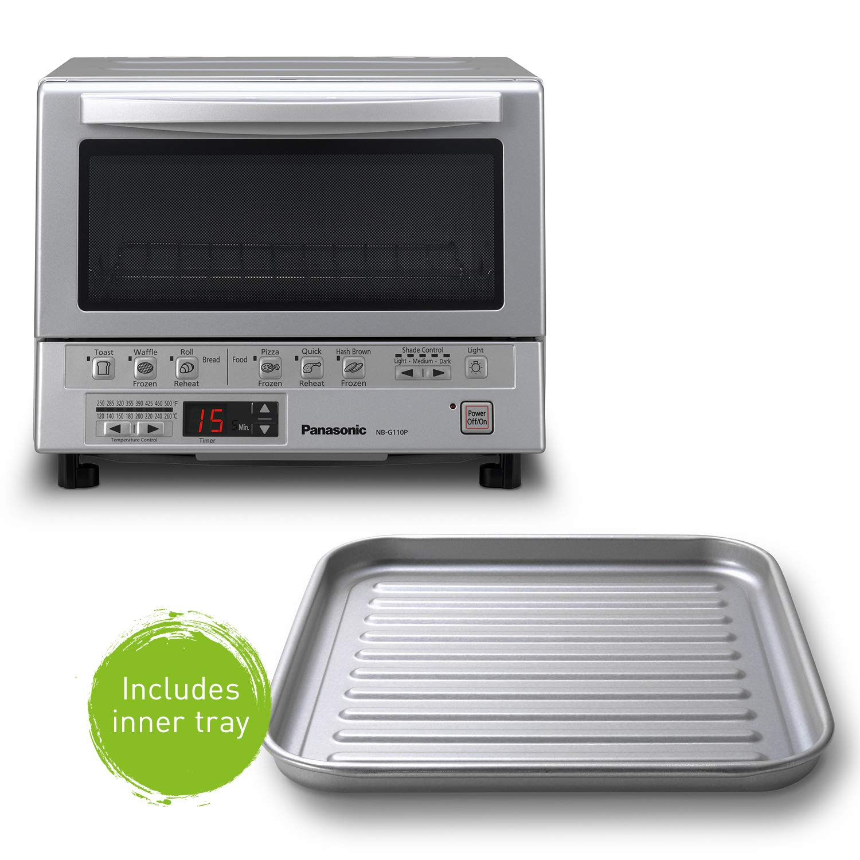 Panasonic Nb G110p Flashxpress 1300w Silver Toaster Oven