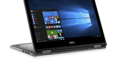 "Dell I7375-A446GRY-PUS 2-in-1 13.3"" Touch-Screen Laptop - AMD Ryzen 7 - 12GB Memory - AMD Radeon RX Vega 10 - 256GB Solid State Drive - Era Gray"