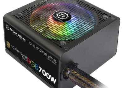 Thermaltake PS-TPD-0700NHFAGU-1 700W Toughpower GX1 RGB 80 PLUS Gold Efficiency Power Supply