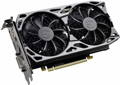 EVGA GeForce GTX 1660 SC ULTRA GAMING, 06G-P4-1067-KR, 6GB GDDR5, Dual Fan, Metal Backplate