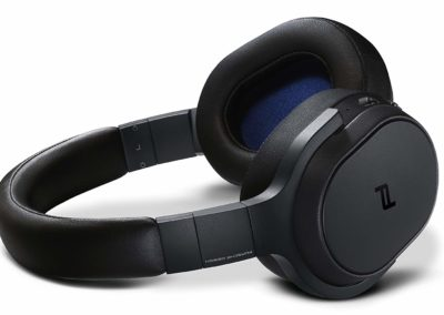 KEF Porsche Design SPACE ONE WIRELESS Over-Ear Noise Cancelling Bluetooth Headphones (Black)