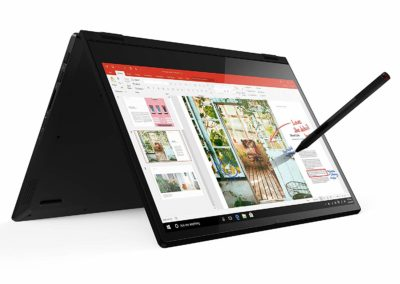 Lenovo Flex 14 81SS0005US 2-in-1 Convertible Laptop, 14 Inch FHD (1920 X 1080) Touchscreen Display, AMD Ryzen 5 3500U Processor, Radeon Vega 8 Graphics, 8GB DDR4 RAM, 256GB NVMe SSD, Win 10, Black, Pen Included