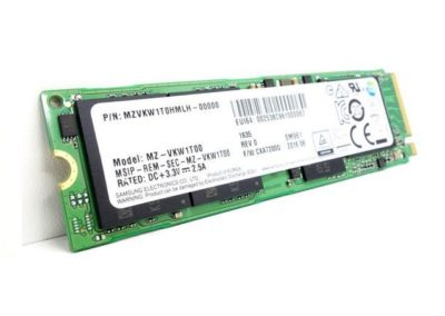 Samsung 1TB SM961 Single Sided Polaris V-NAND MLC 80mm (2280) M.2 PCI Express 3.0 x4 (PCIe Gen3 x4) NVMe OEM SSD - MZVKW1T0HMLH
