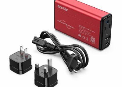 BESTEK Travel Converter Adapter 220V to 110V Power Voltage Converter