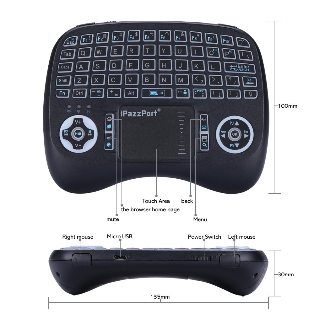 leelbox 2 4ghz wireless mini keyboard for shipped prime from amazon apex deals. Black Bedroom Furniture Sets. Home Design Ideas