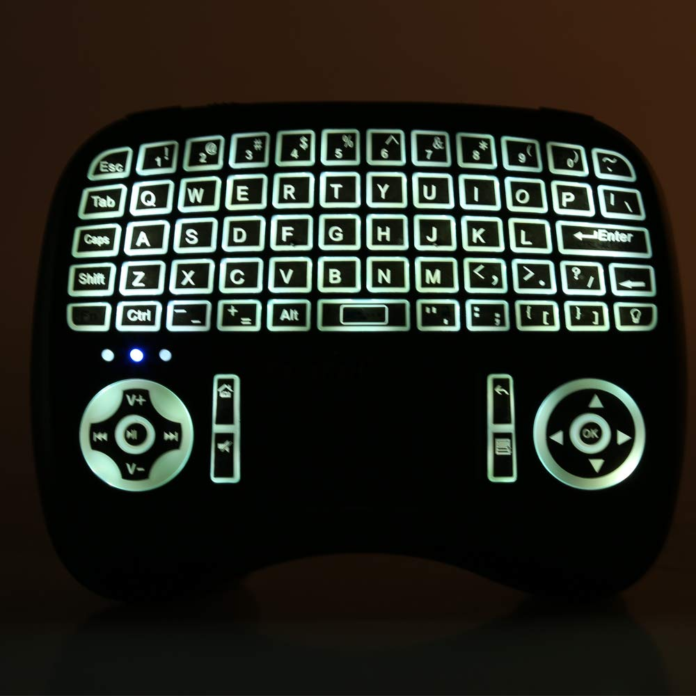 21747f2d59e Leelbox 2.4Ghz Mini Keyboard, Wireless Mouse Touchpad Rechargeable Combos  for PC Pad Android TV
