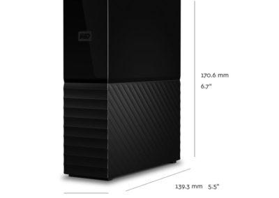 Western Digital 6TB My Book Desktop External Hard Drive USB 3.0