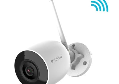 LaView LV-PWB2524-W 1080P 2MP WiFi HD H.265+ IP67 ONVIF RTSP Support Wireless Audio IP Camera