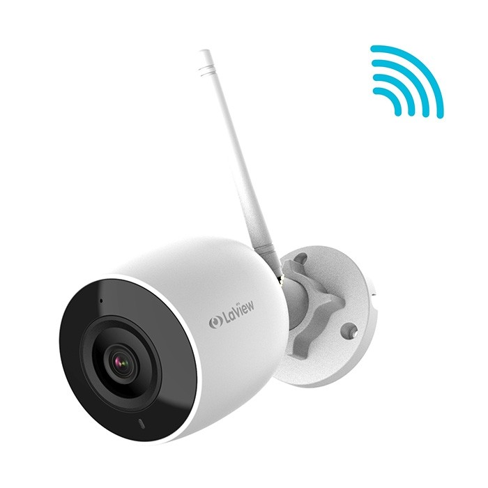 LaView 1080P 2MP WiFi HD H 265+ IP67 ONVIF RTSP Support Wireless