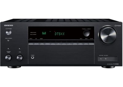 Onkyo TX-NR585 7.2 Channel Receiver with HDR10, HLG, Dolby Vision, with Dolby Atmos, DTS:X and 5.2.2 channels
